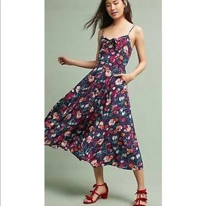 Anthropologie exclusive Yumi Kim silk dress
